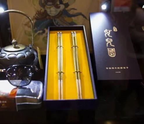 《西游记女儿国》-金丝楠木银筷